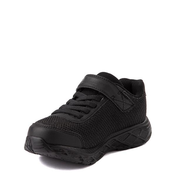 alternate view Skechers S Lights Dynamic Flash Sneaker - Little Kid - Black MonochromeALT3