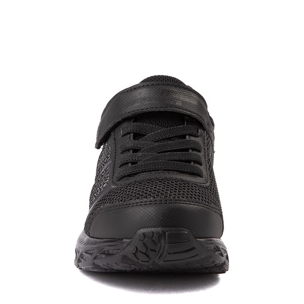 alternate view Skechers S Lights Dynamic Flash Sneaker - Little Kid - Black MonochromeALT4