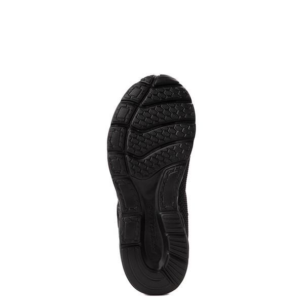 alternate view Skechers S Lights Dynamic Flash Sneaker - Little Kid - Black MonochromeALT5