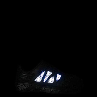 Alternate view of Skechers S Lights Dynamic Flash Sneaker - Little Kid - Black Monochrome