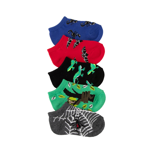 Main view of Creepy Crawlers Footie Socks 5 Pack - Toddler - Multi