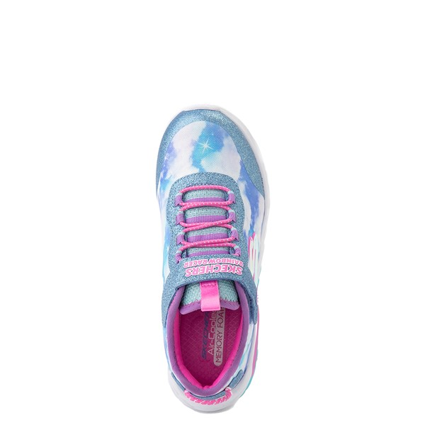alternate view Skechers Rainbow Racer Sneaker - Little Kid - SkyALT2