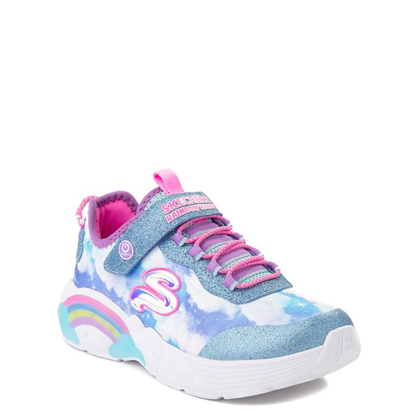alternate view Skechers Rainbow Racer Sneaker - Little Kid - SkyALT5