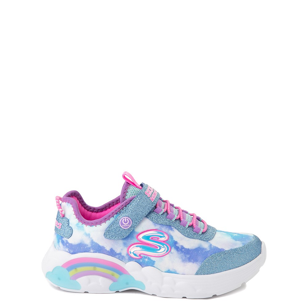 Skechers Rainbow Racer Sneaker - Little Kid - Sky
