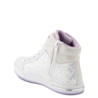 Alternate view of Skechers Shoutouts Sparkle On Top Sneaker - Little Kid - White