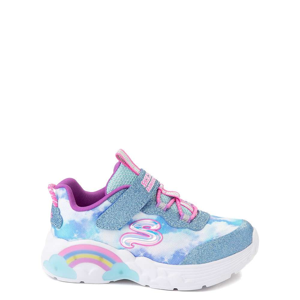 Skechers Rainbow Racer Sneaker - Toddler - Sky