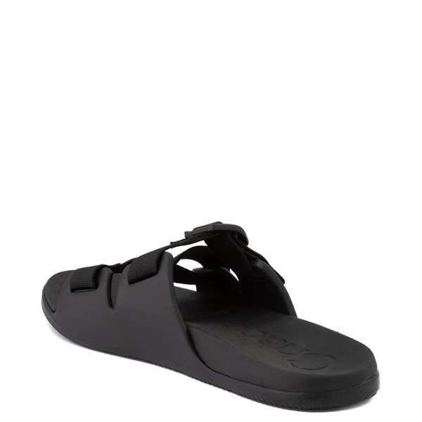 alternate view Womens Chaco Chillos Slide Sandal - BlackALT1