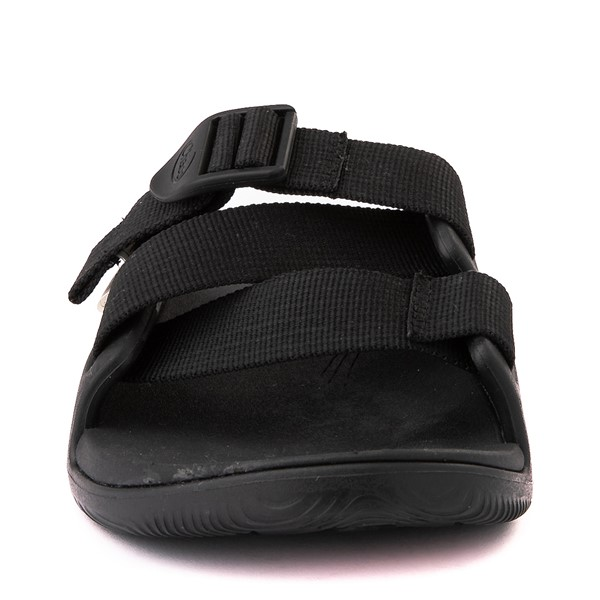 alternate view Womens Chaco Chillos Slide Sandal - BlackALT4