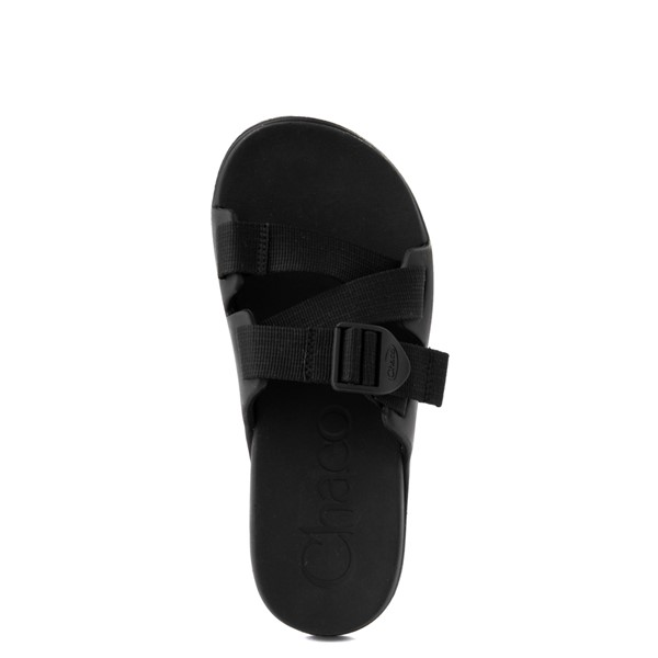 alternate view Womens Chaco Chillos Slide Sandal - BlackALT4B