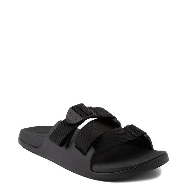 alternate view Womens Chaco Chillos Slide Sandal - BlackALT5