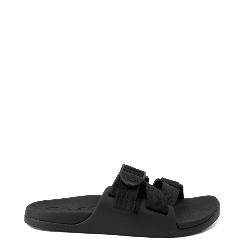 Womens Chaco Chillos Slide Sandal - Black