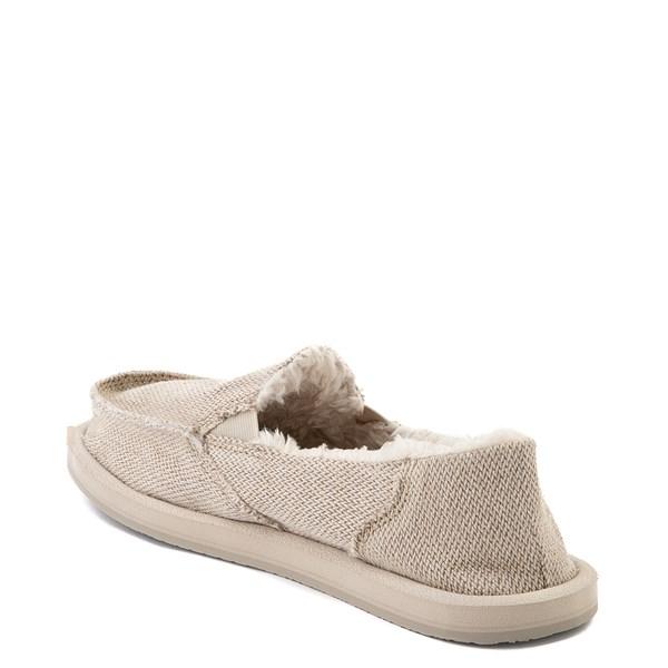 alternate view Womens Sanuk Donna Hemp Chill Slip On Casual Shoe - NaturalALT2