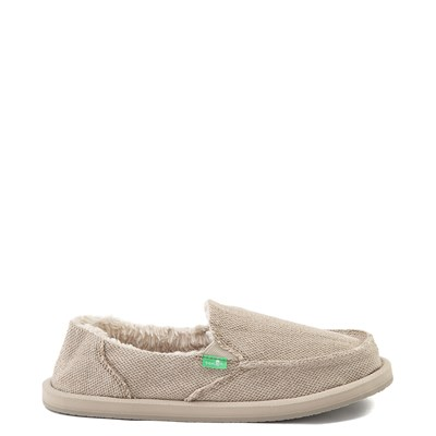 Main view of Womens Sanuk Donna Hemp Chill Slip On Casual Shoe - Natural