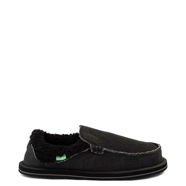 Womens Sanuk Chiba Chill Slip On Casual Shoe - Black