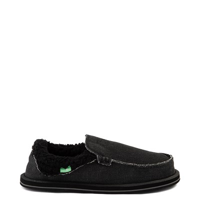 Main view of Womens Sanuk Chiba Chill Slip On Casual Shoe - Black