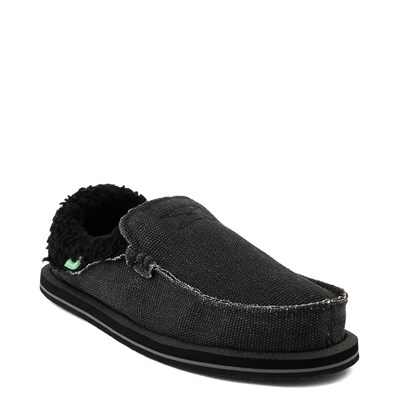 Alternate view of Womens Sanuk Chiba Chill Slip On Casual Shoe - Black