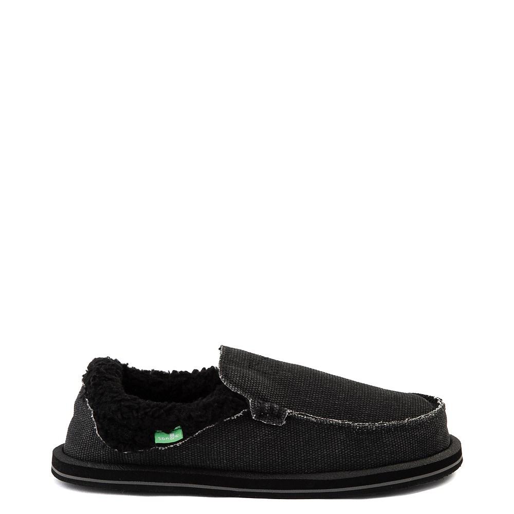 Womens Sanuk Chiba Chill Slip On Casual Shoe - Black