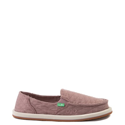 Main view of Womens Sanuk Donna Quilt Slip On Casual Shoe - Woodrose