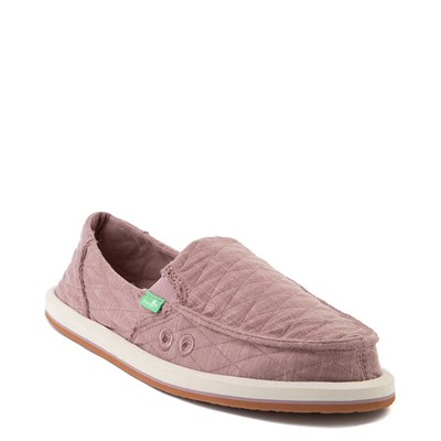 Alternate view of Womens Sanuk Donna Quilt Slip On Casual Shoe - Woodrose