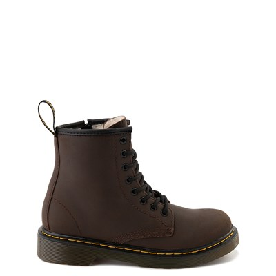 Main view of Dr. Martens 1460 8-Eye Serena Boot - Little Kid / Big Kid - Dark Brown