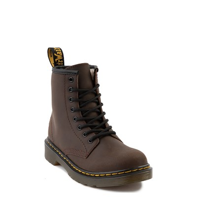 Alternate view of Dr. Martens 1460 8-Eye Serena Boot - Little Kid / Big Kid - Dark Brown