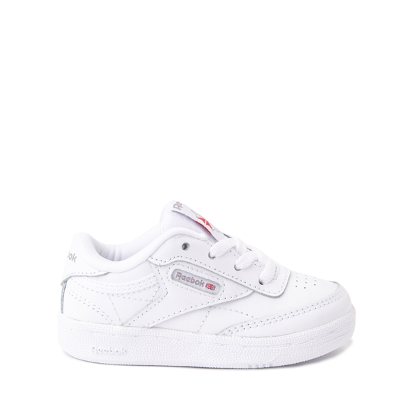 Main view of Reebok Club C Athletic Shoe - Baby / Toddler - White Monochrome