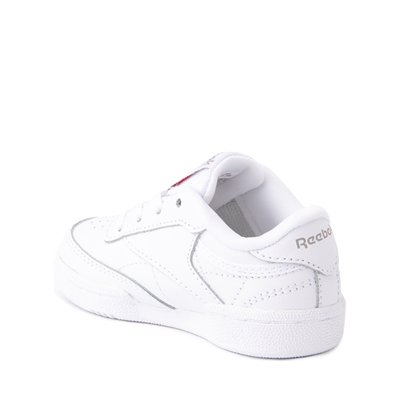 Alternate view of Reebok Club C Athletic Shoe - Baby / Toddler - White Monochrome