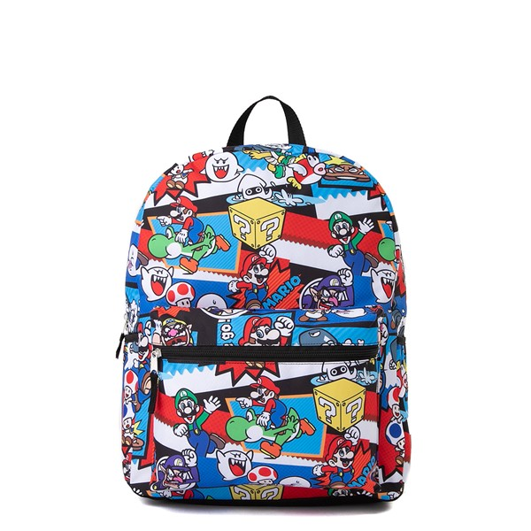 Main view of Super Mario Backpack - Multicolor