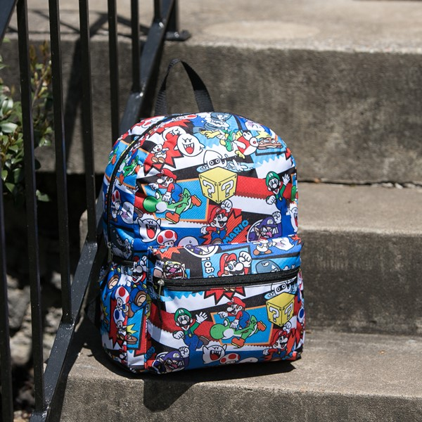 alternate view Super Mario Backpack - MulticolorALT1BB
