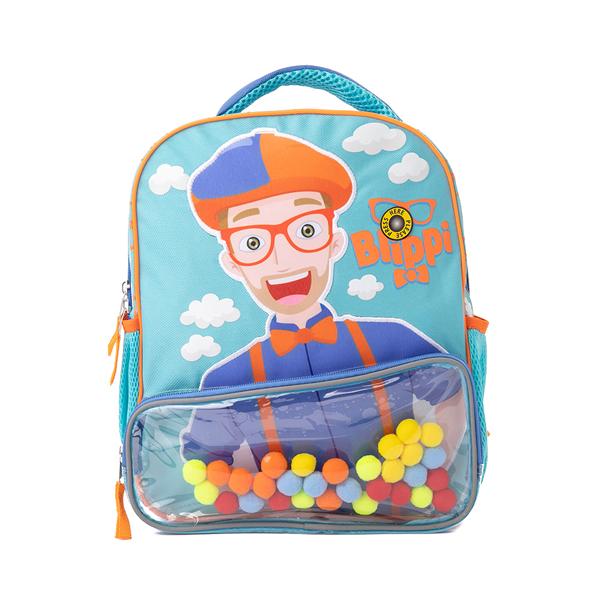 Main view of Here's Blippi Backpack - Blue / Orange