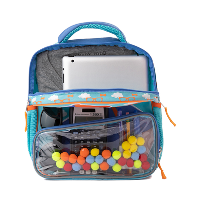 Alternate view of Here's Blippi Backpack - Blue / Orange
