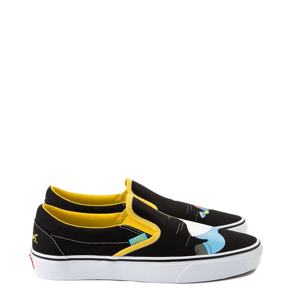 alternate view Vans x The Simpsons Slip On Homer and Bart Skate Shoe - BlackALT1