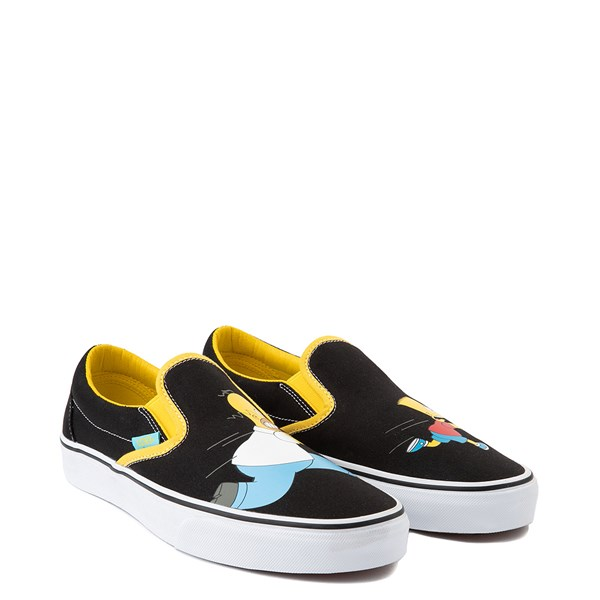 alternate view Vans x The Simpsons Slip On Homer and Bart Skate Shoe - BlackALT1B