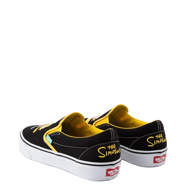 alternate view Vans x The Simpsons Slip On Homer and Bart Skate Shoe - BlackALT2