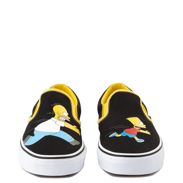 alternate view Vans x The Simpsons Slip On Homer and Bart Skate Shoe - BlackALT4