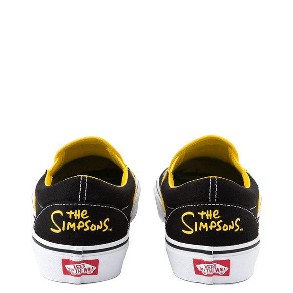 alternate view Vans x The Simpsons Slip On Homer and Bart Skate Shoe - BlackALT6