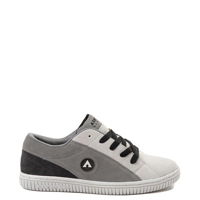 Main view of Mens Airwalk The One Skate Shoe - Gray / Charcoal
