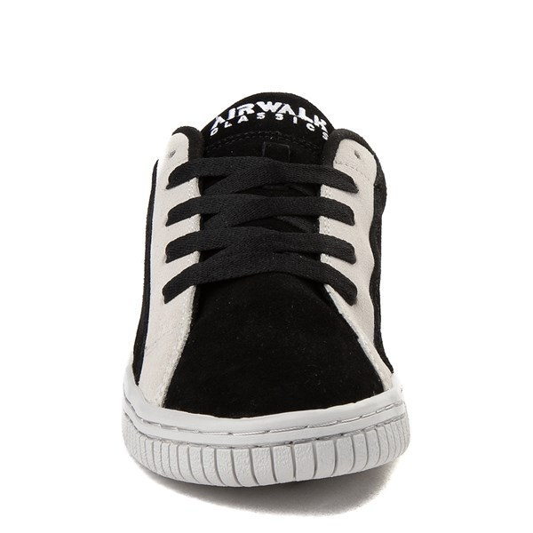 alternate view Mens Airwalk The Random Skate Shoe - Black / WhiteALT4