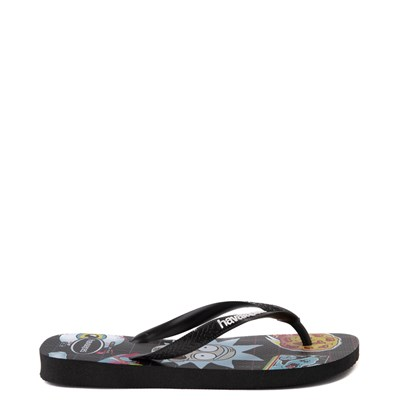Alternate view of Havaianas Rick and Morty Top Sandal - Black