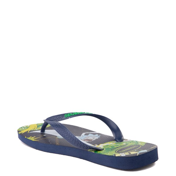 alternate view Havaianas Rick and Morty Top Sandal - NavyALT2