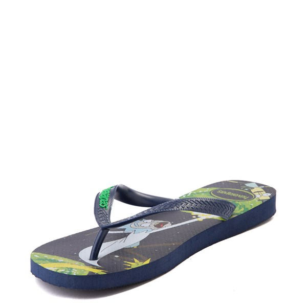alternate view Havaianas Rick and Morty Top Sandal - NavyALT3