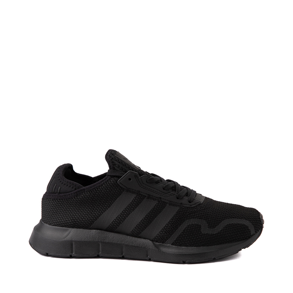 Mens adidas Swift Run X Athletic Shoe - Black Monochrome