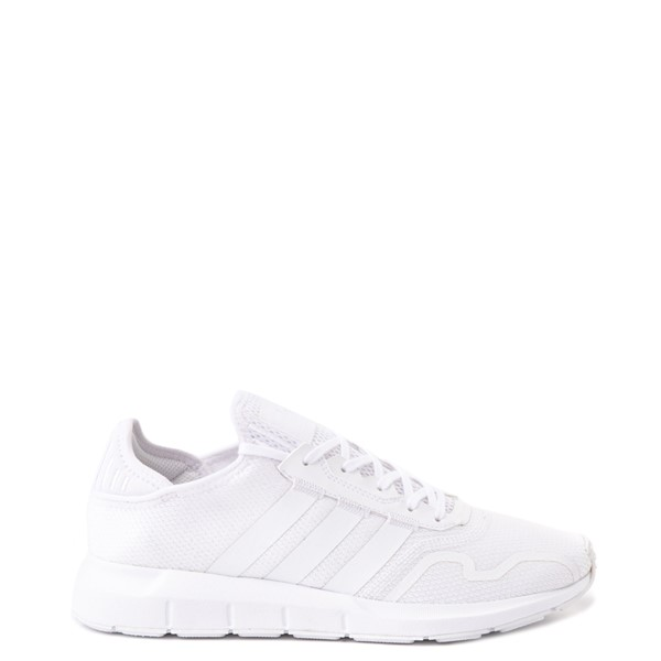 Mens adidas Swift Run X Athletic Shoe - White Monochrome