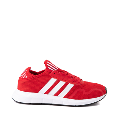 Main view of Mens adidas Swift X Athletic Shoe - Red / White