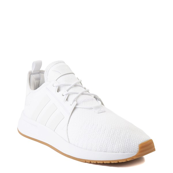 alternate view Mens adidas X_PLR Athletic Shoe - White / GumALT5