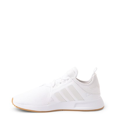 Alternate view of Mens adidas X_PLR Athletic Shoe - White / Gum