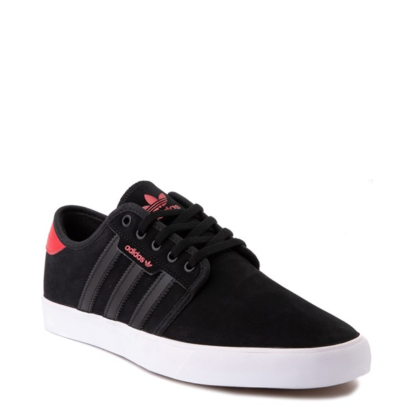 alternate view Mens adidas Seeley Skate Shoe - Black / RedALT5