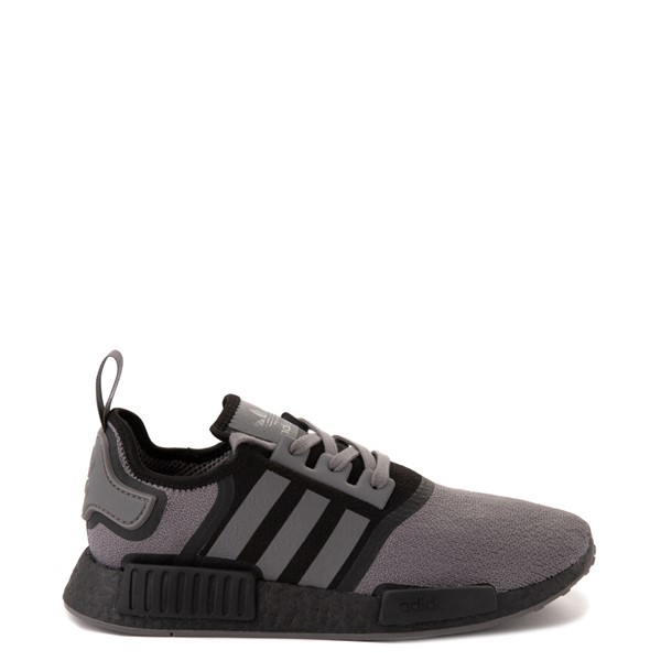 Mens adidas NMD R1 Athletic Shoe - Gray / Black