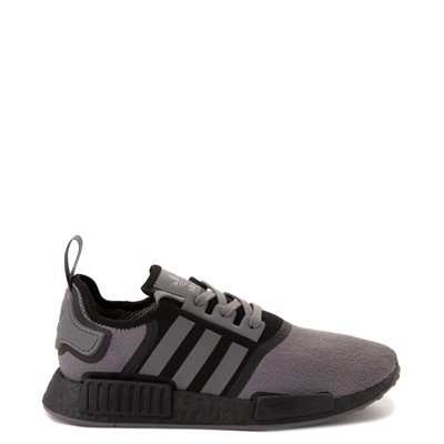 Main view of Mens adidas NMD R1 Athletic Shoe - Gray / Black