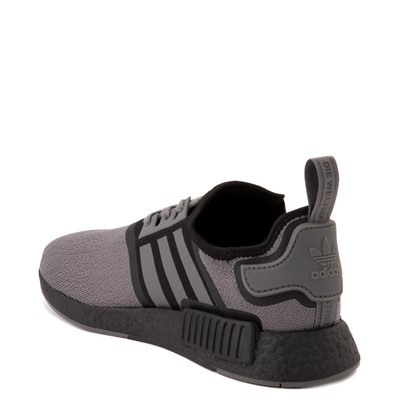 Alternate view of Mens adidas NMD R1 Athletic Shoe - Gray / Black